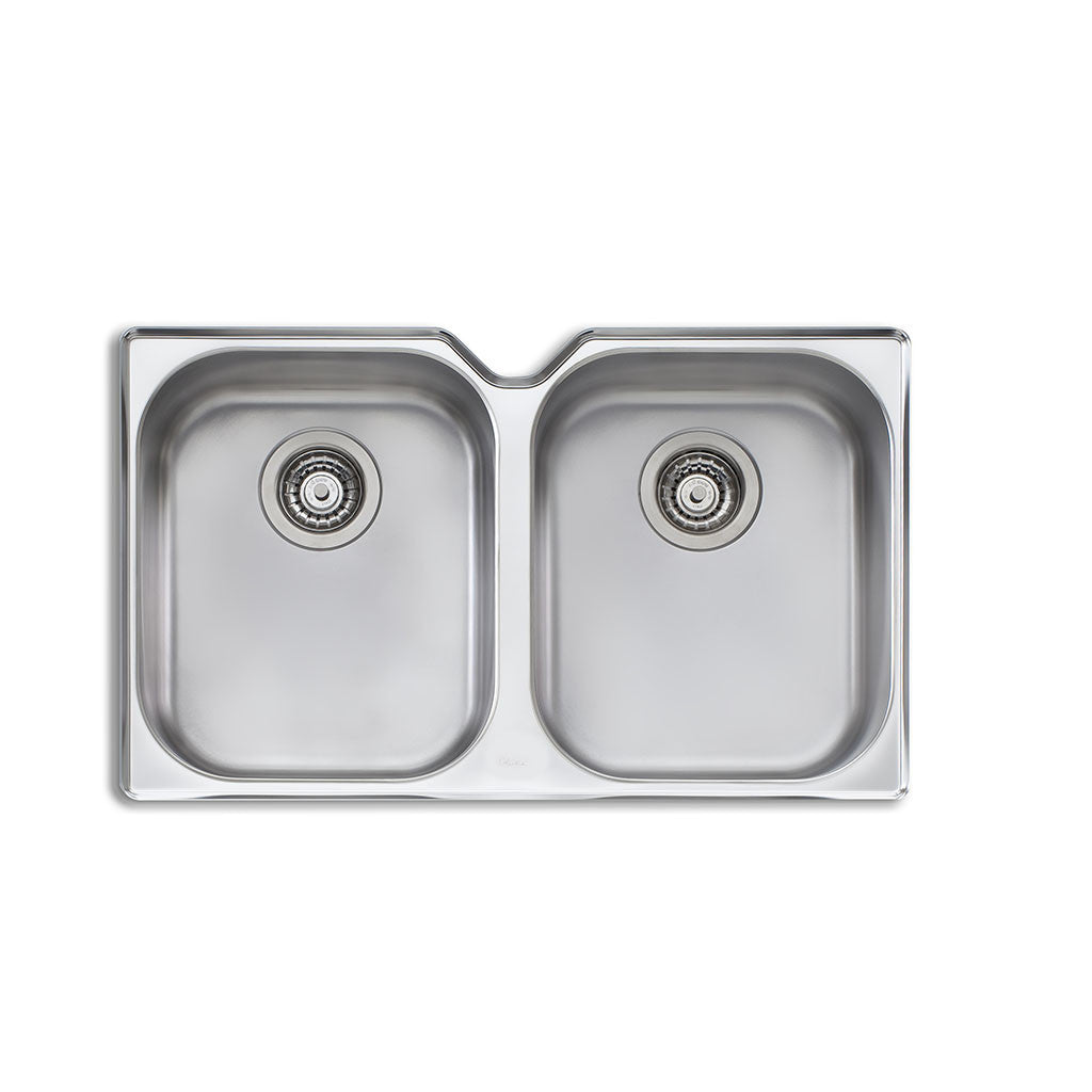 Oliveri Diaz Double Bowl Undermount Sink DZ10U