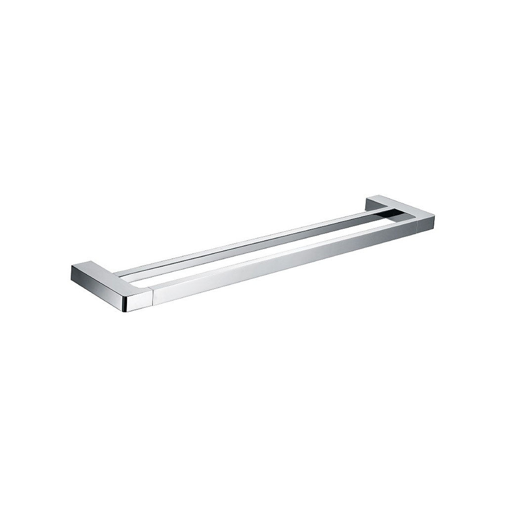 Streamline Eneo Double Towel Rail 600mm Chrome