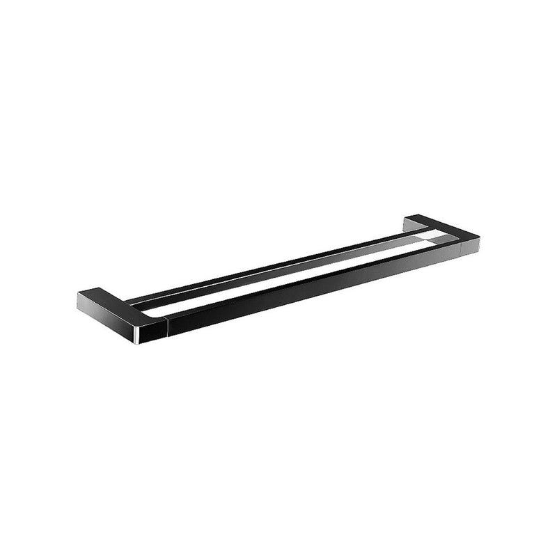 Streamline Eneo Double Towel Rail 600mm Matte Black