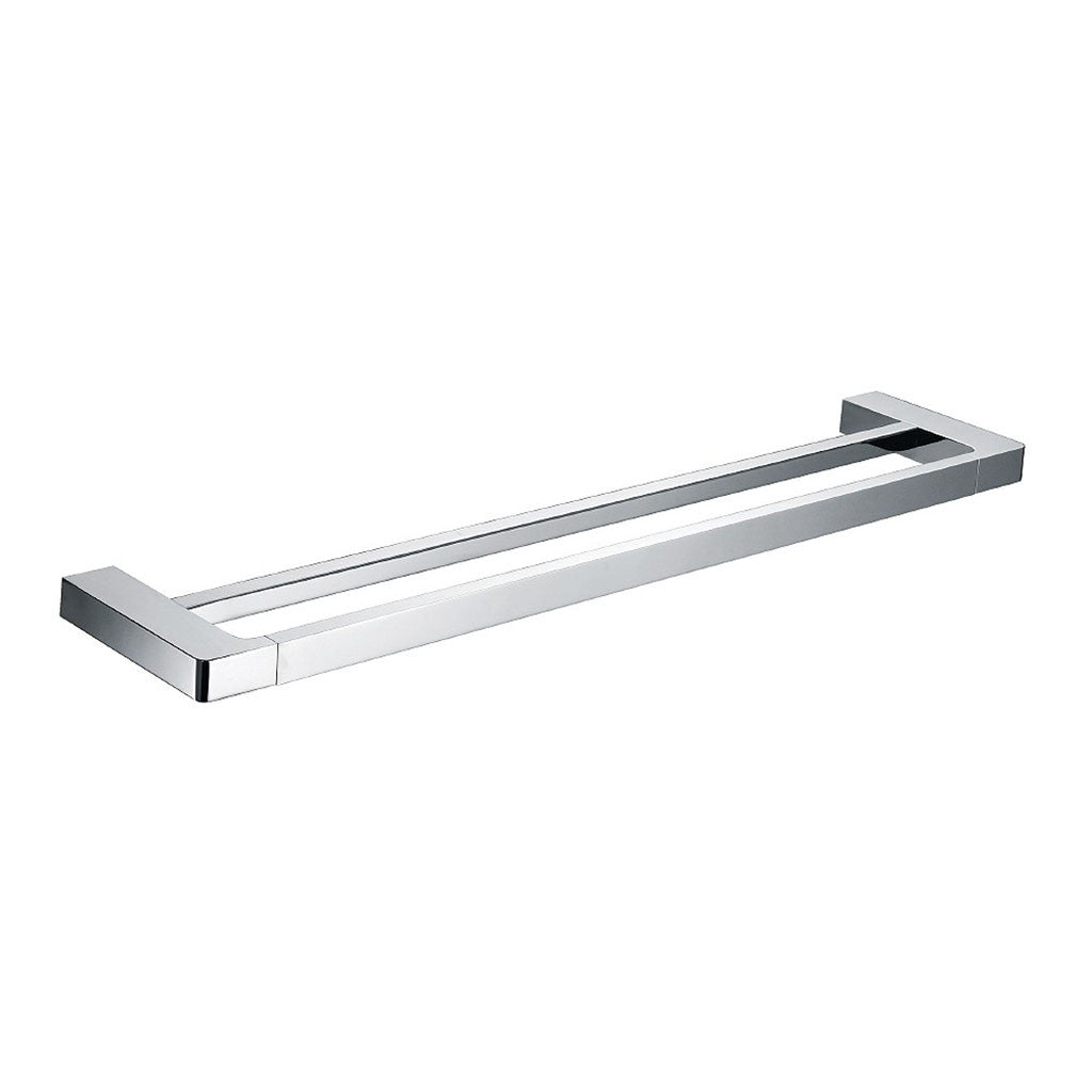 Streamline Eneo Double Towel Rail 800mm Chrome