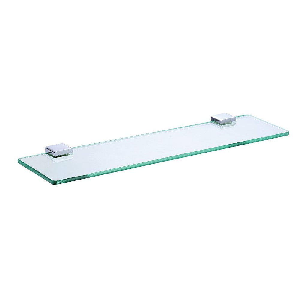 Eneo Glass Shelf Chrome | Online Bathroomware