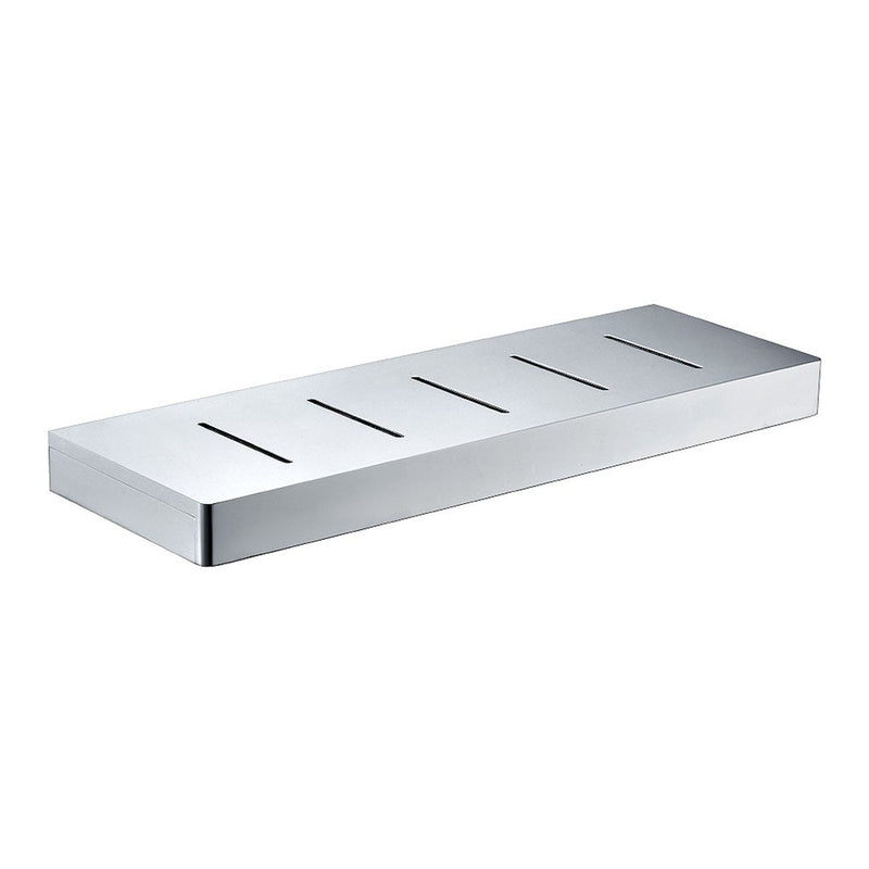 Streamline Eneo Shelf with Drain Slots 300mm Chrome