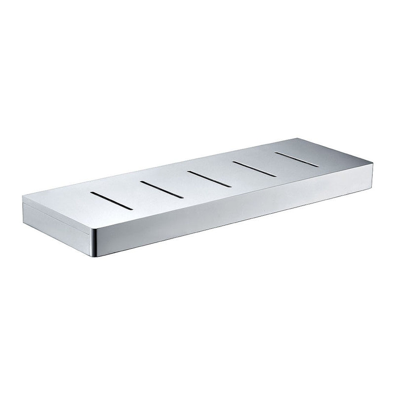 Streamline Eneo Shelf with Drain Slots 400mm Chrome