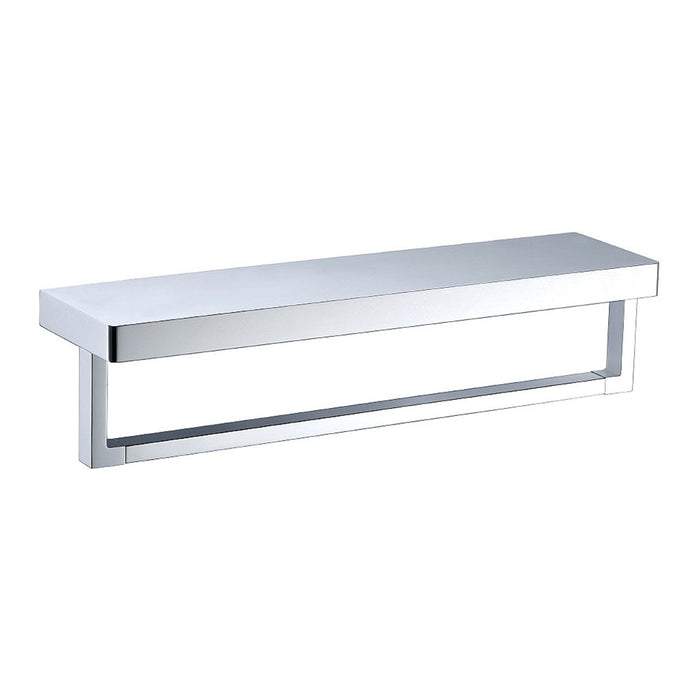 Eneo Shelf with Towel Rail (Chrome)