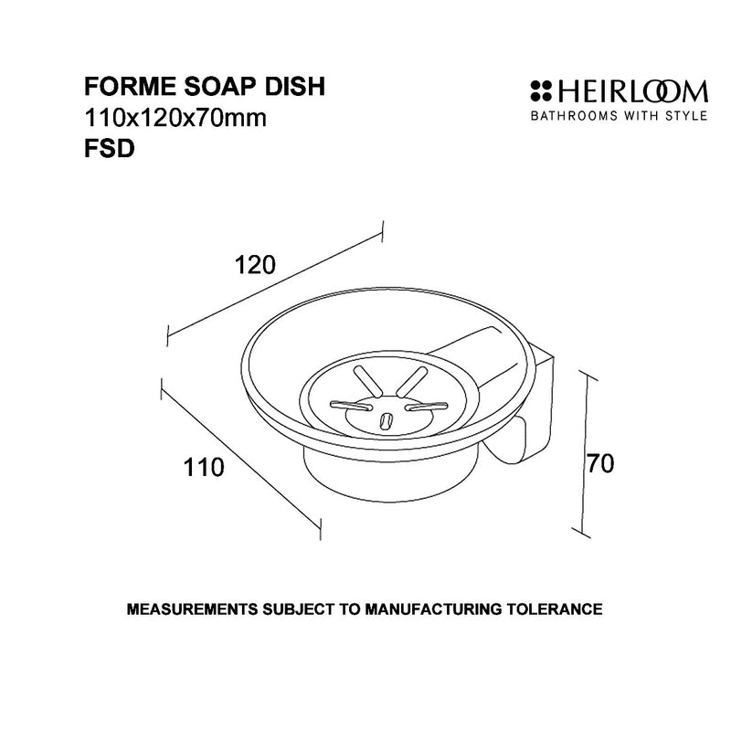 forme soap dish