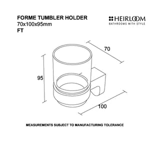 Forme Tumbler Holder Diagram