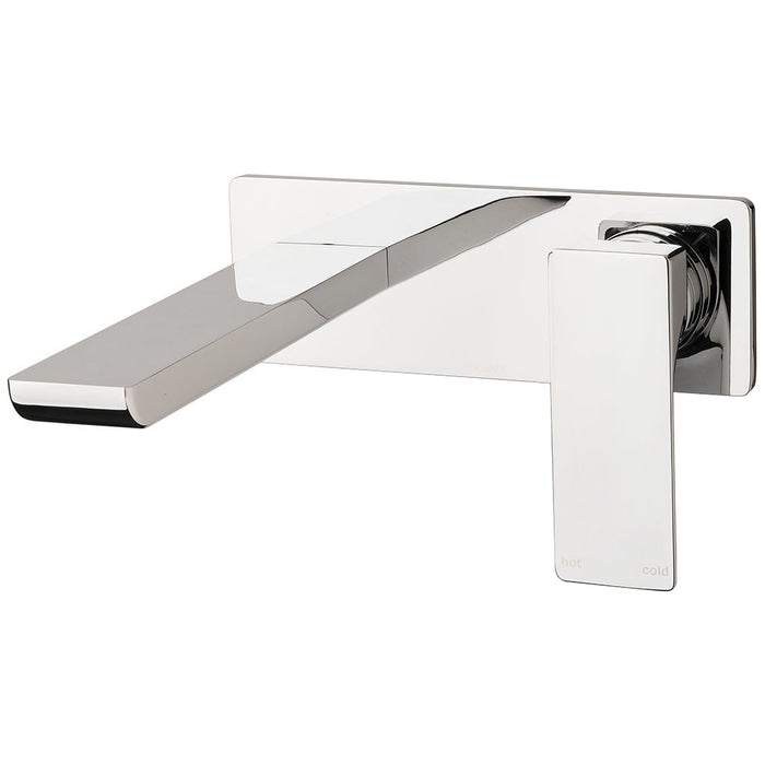 Gloss Wall Basin Set (Chrome)