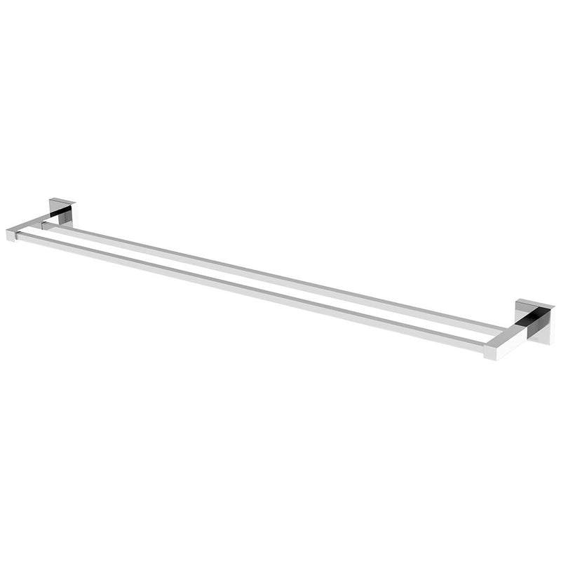 Phoenix Tapware Lexi Double Towel Rail 800mm (Chrome) LE50215C