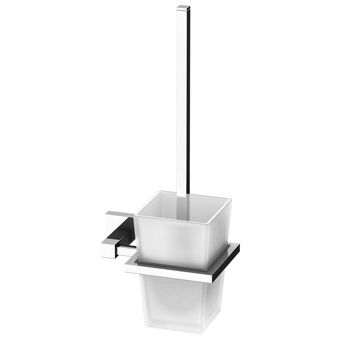 Lexi Toilet Brush Holder (Chrome)