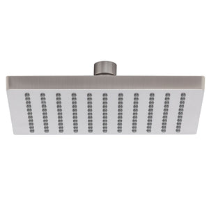 Phoenix Tapware Lexi Shower Rose Only 200mm (Square) (Brushed Nickel) LE5100-10
