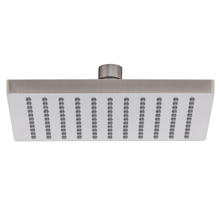 Lexi Shower Rose Only 200mm (Square) (Brushed Nickel)