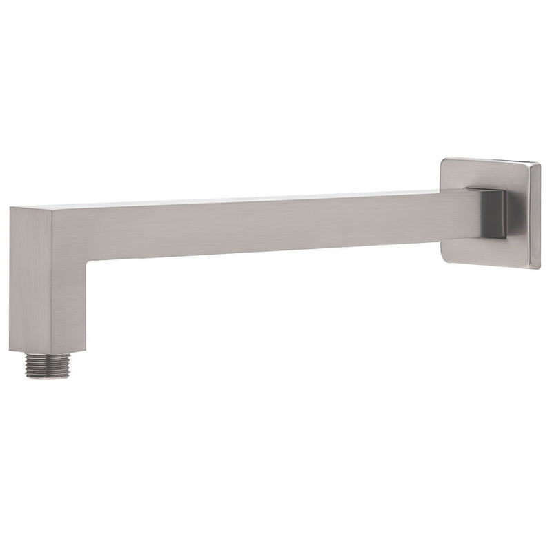 Phoenix Tapware Lexi Shower Arm Only 400mm (Square) (Brushed Nickel) LE6000-10