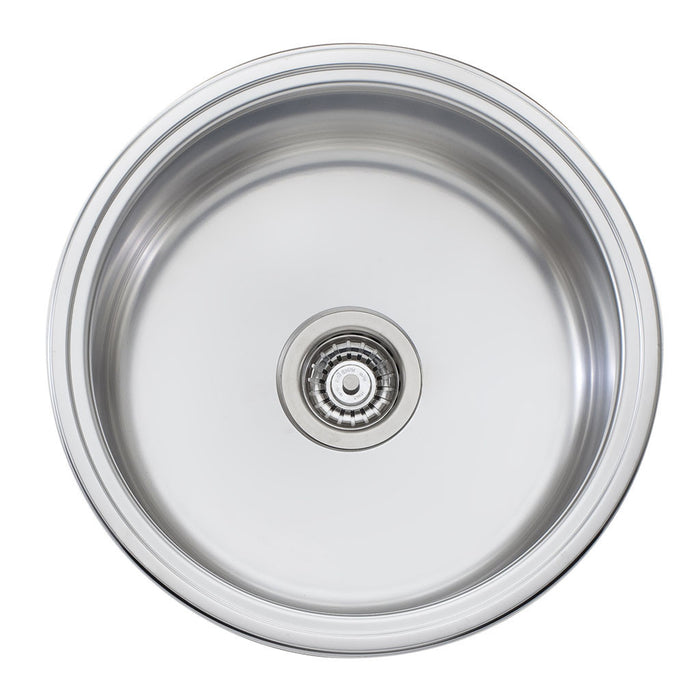 Solitaire Round Bowl Sink