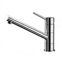 Milan Pin Lever Upswept Sink Mixer (Chrome)