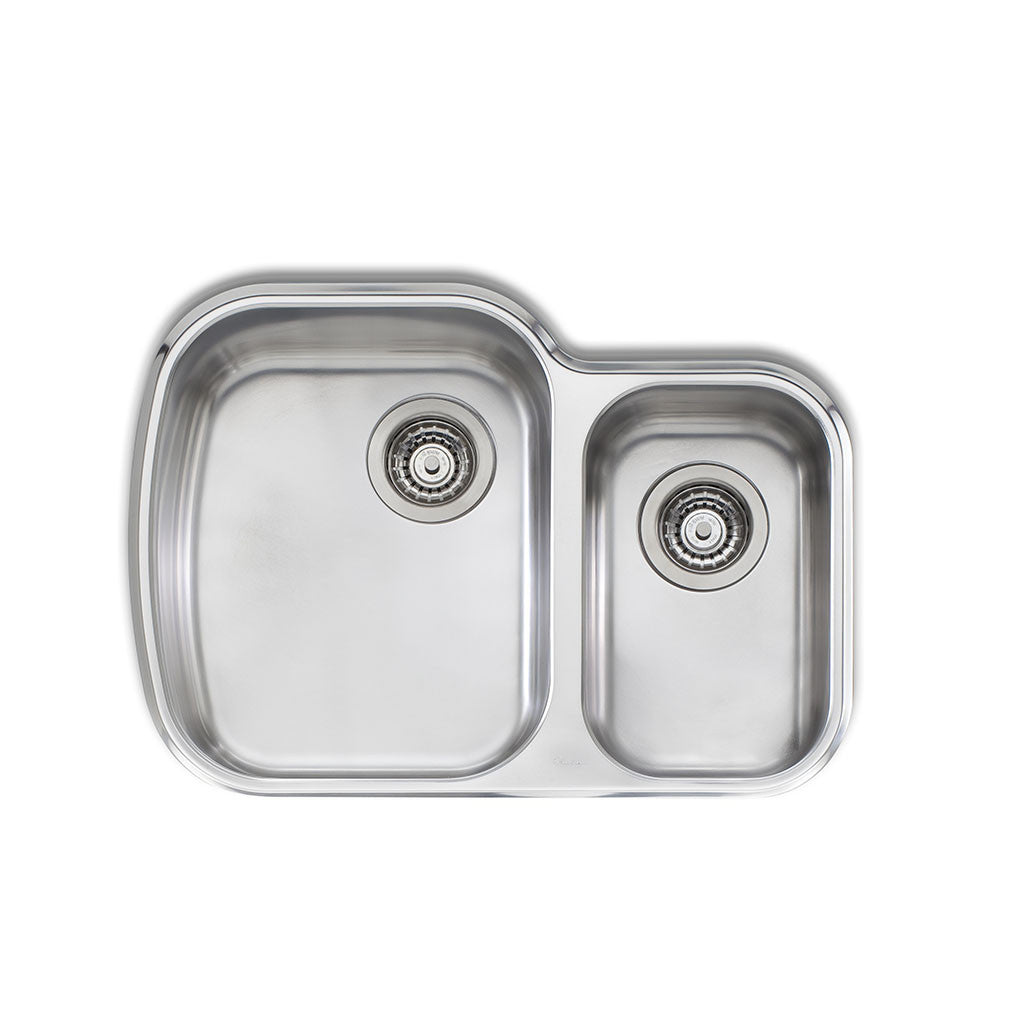 Oliveri Monet 1 & 1/2 Bowl Undermount Sink MO71U