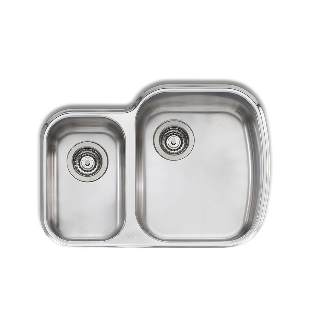Oliveri Monet 1 & 1/2 Bowl Undermount Sink MO72U