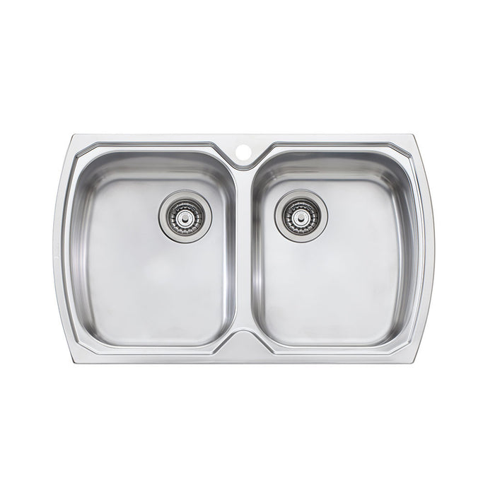 Monet Double Bowl Topmount Sink