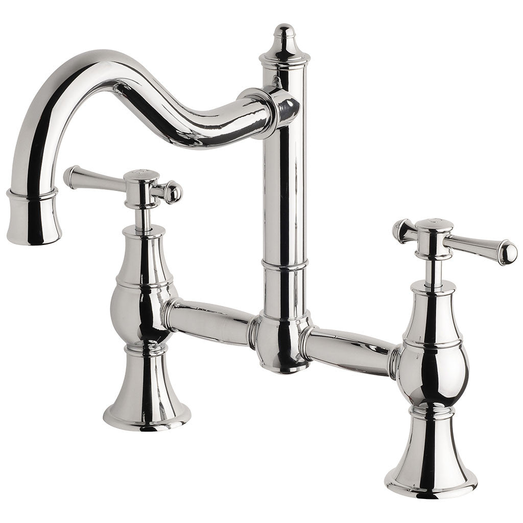 Phoenix Tapware Nostalgia Exposed Sink Set (Chrome) NS135CHR
