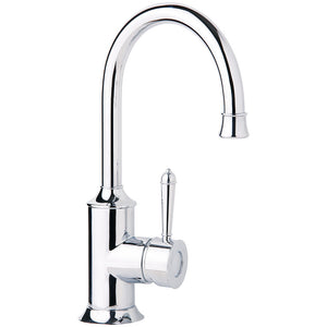 Phoenix Tapware Nostalgia Sink Mixer 160mm Gooseneck (Chrome) NS730CHR