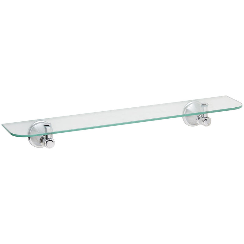 Phoenix Tapware Nostalgia Glass Shelf (Chrome) NS896CHR