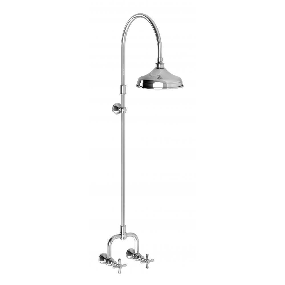 Nostalgia Exposed Shower Set (Chrome)