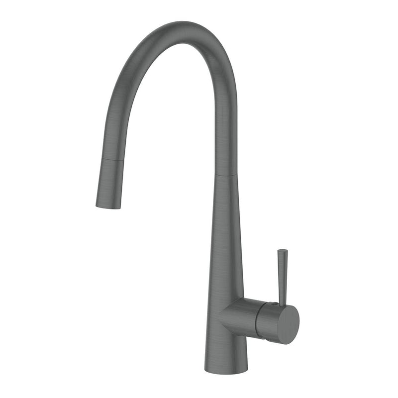 Galiano Pull Out Sink Mixer Brushed Nickel Dual Function