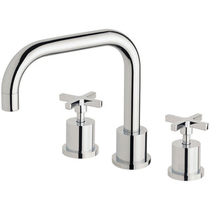 Phoenix Tapware Radii Basin Set 160mm Squareline (Chrome) RA100CHR