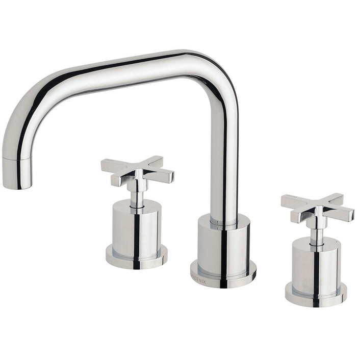 Radii Basin Set 160mm Squareline (Chrome)