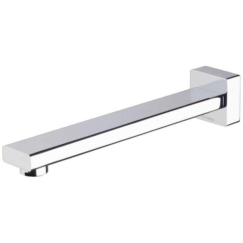 Phoenix Tapware Radii Wall Bath Outlet 230mm (Chrome) RA777CHR