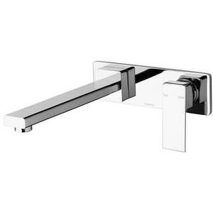 Phoenix Tapware Radii Wall Bath Set 230mm (Chrome) RA784CHR