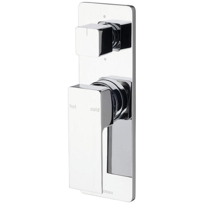 Radii Shower / Bath Diverter Mixer (Chrome)