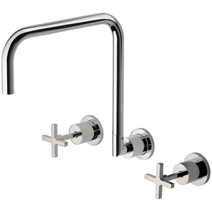 Phoenix Tapware Radii Wall Sink Set 300mm (Chrome) RA810CHR
