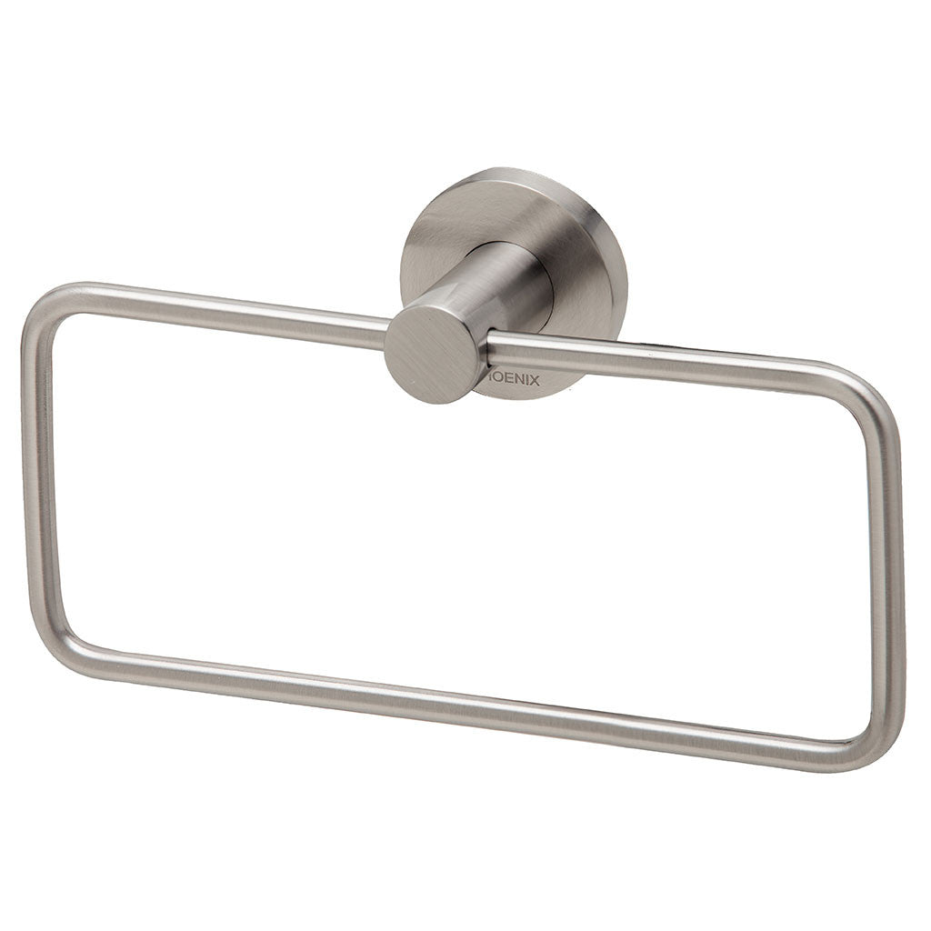 Phoenix Tapware Radii Hand Towel Holder (Round) (Brushed Nickel) RA893BN