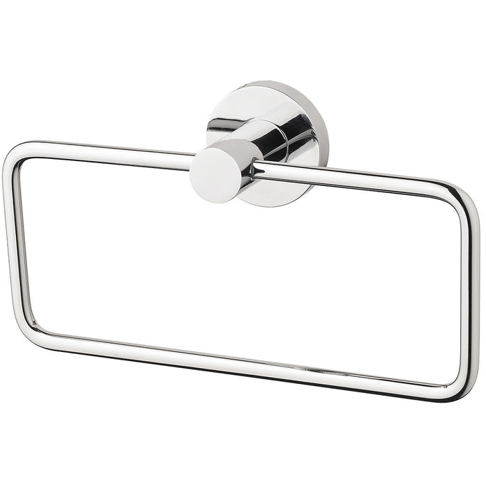 Radii Hand Towel Holder (Round) (Chrome)