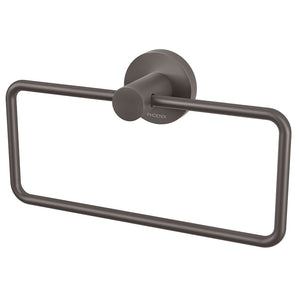 Phoenix Tapware Radii Hand Towel Holder (Round) (Gun Metal) RA893GM