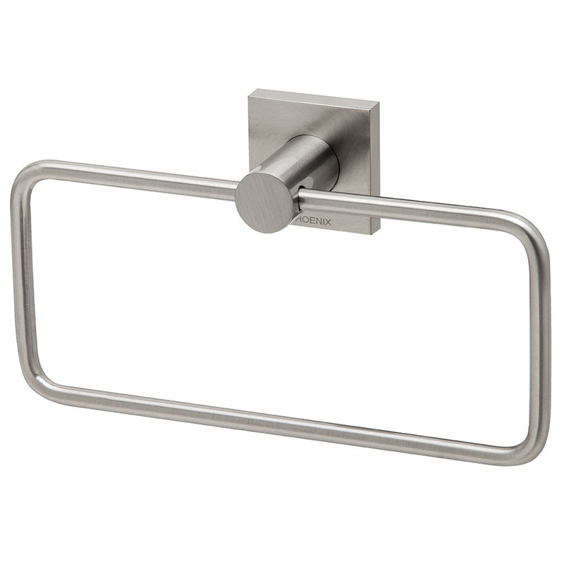 Phoenix Tapware Radii Hand Towel Holder (Square) (Brushed Nickel) RS893BN