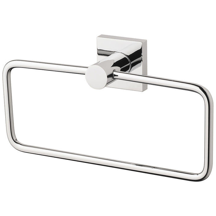 Radii Hand Towel Holder (Square) (Chrome)