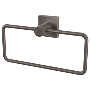 Phoenix Tapware Radii Hand Towel Holder (Square) (Gun Metal) RS893GM