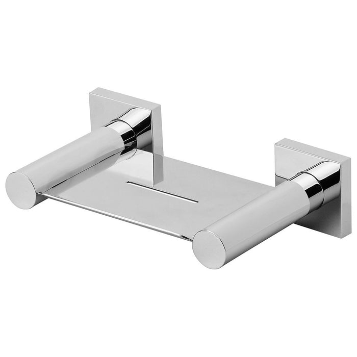 Radii Soap Dish (Square) (Chrome)