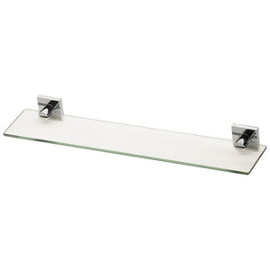 Phoenix Tapware Radii Glass Shelf (Square) (Chrome) RS896CHR