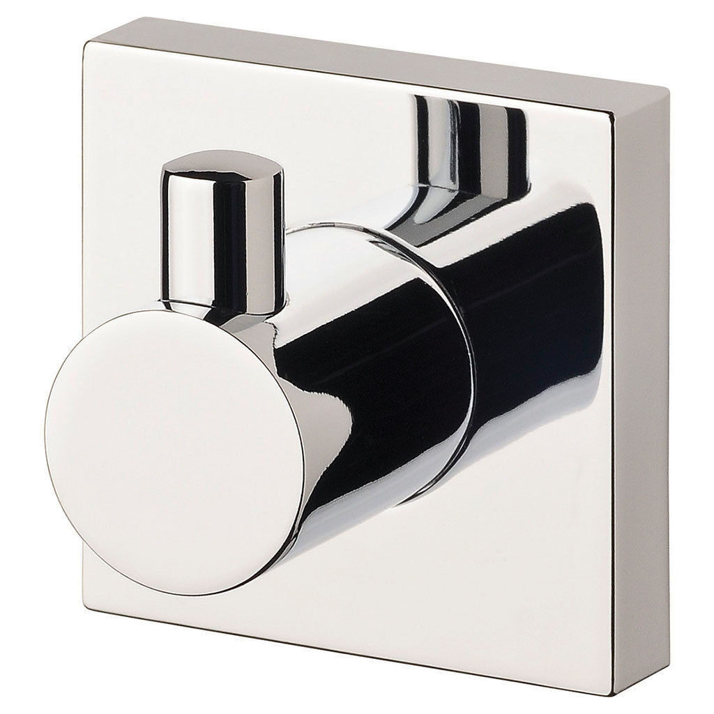 Radii Robe Hook (Square) (Chrome) | Online Bathroomware