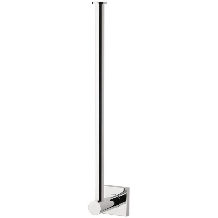 Radii Spare Toilet Roll Holder (Square) (Chrome)
