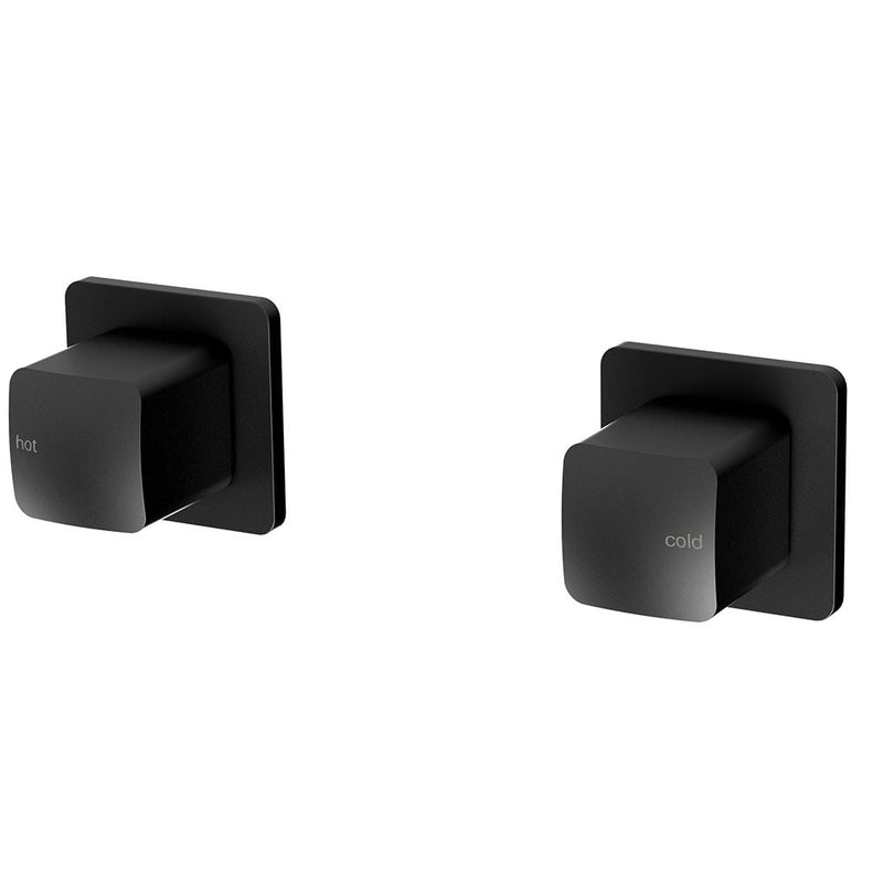 Phoenix Tapware Rush Wall Top Assemblies (Matte Black) RU060MB