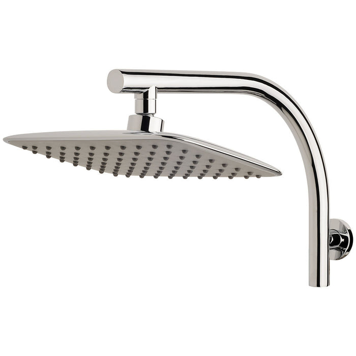 Rush Shower Arm & Rose (Chrome)
