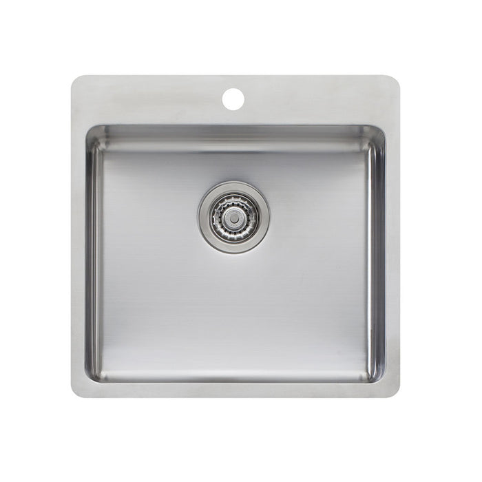 Sonetto Large Bowl Topmount Sink