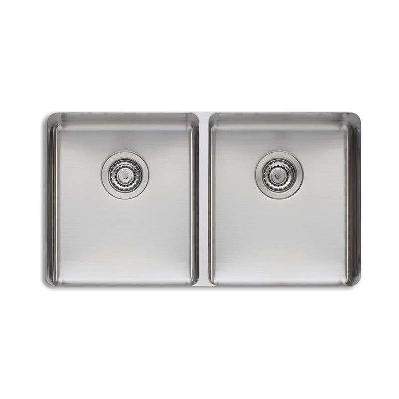 Oliveri Sonetto Double Bowl Undermount Sink SN1063U