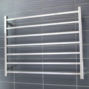 Radiant Heated Towel Rail Square 950x750 (Chrome)