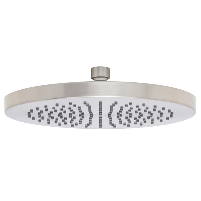 Vivid Shower Rose 230mm (Round) (Brushed Nickel)