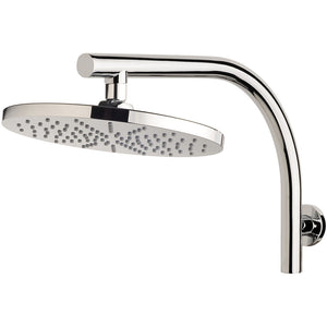 Phoenix Tapware Vivid Curved Shower Arm & 230mm Round Rose (Chrome) V533