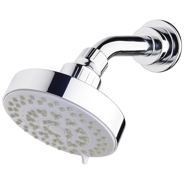 Ivy 3 Function Wall Shower & Arm (Chrome)